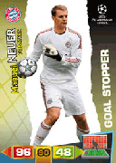 Adrenalyn XL 2012 Goal Stoppers Cards