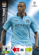 Adrenalyn Xl 2013 Manchester City Cards