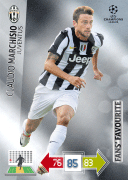 Adrenalyn XL 2013 Fans Favourites Cards