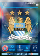 Adrenalyn XL 2015 Manchester City Cards