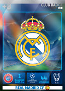 Adrenalyn XL 2015 Real Madrid Cards