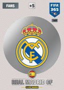 Adrenalyn XL FIFA365 2017 Real Madrid Cards