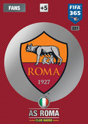 Adrenalyn XL FIFA365 2017 AS Roma Cards
