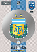 Adrenalyn XL FIFA365 2017 Argentina Cards