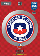 Adrenalyn XL FIFA365 2017 Chile Cards