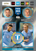 Adrenalyn XL FIFA365 2017 Nordic Exclusive Cards