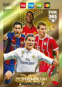 Adrenalyn XL FIFA365 2018<br>Invincible Cards