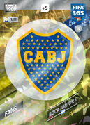 Adrenalyn XL FIFA365 2018<br>Boca Juniors Cards