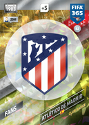 Adrenalyn XL FIFA365 2018<br>Atletico Madrid Cards