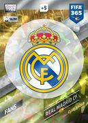Adrenalyn XL FIFA365 2018<br>Real Madrid Cards