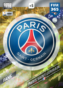 Adrenalyn XL FIFA365 2018<br>Paris St Germain Cards