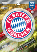 Adrenalyn XL FIFA365 2018<br>Bayern Munich Cards