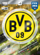 Adrenalyn XL FIFA365 2018<br>Borussia Dortmund Cards