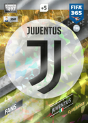 Adrenalyn XL FIFA365 2018<br>Juventus Cards
