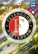 Adrenalyn XL FIFA365 2018<br>Feyenoord Cards