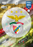 Adrenalyn XL FIFA365 2018<br>Benfica Cards