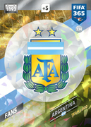 Adrenalyn XL FIFA365 2018<br>Argentina Cards