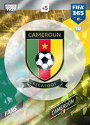 Adrenalyn XL FIFA365 2018<br>Cameroon Cards