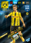 Adrenalyn XL FIFA365 2018<br>Key Players Cards