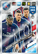 Adrenalyn XL FIFA365 2018<br>Midfield Engines Cards