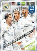 Adrenalyn XL FIFA365 2018<br>Trios Cards