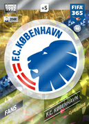 Adrenalyn XL FIFA365 2018<br>FC Copenhagen Cards