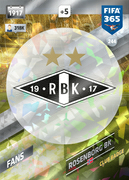 Adrenalyn XL FIFA365 2018<br>Rosenborg Cards