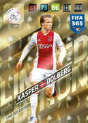 Adrenalyn XL FIFA365 2018<br>Limited Edition Cards