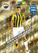Adrenalyn XL FIFA365 2018<br>Fenerbahce Cards