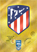Adrenalyn XL FIFA365 2019<br>Atletico Madrid Cards