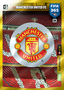 Adrenalyn XL FIFA365 2020<br>Manchester United Cards