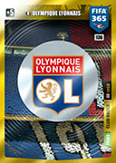 Adrenalyn XL FIFA365 2020<br>Olympique Lyon Cards