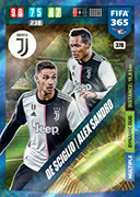 Adrenalyn XL FIFA365 2020<br>Dynamic Duo Cards