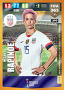 Adrenalyn XL FIFA365 2020<br>Womens World Cup Winners Cards