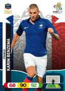 Adrenalyn XL Euro 2012 France Cards