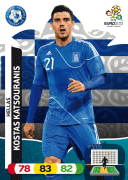 Adrenalyn XL Euro 2012 Greece Cards