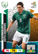 Adrenalyn XL Euro 2012 Rep. of Ireland Cards
