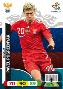 Adrenalyn XL Euro 2012 Russia Cards