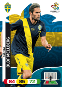 Adrenalyn XL Euro 2012 Sweden Cards