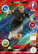 Adrenalyn XL Euro 2016 Defensive Rock Cards