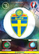 Adrenalyn Xl Euro 2016 Sweden Cards