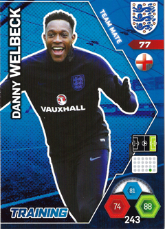 Adrenalyn XL England 2018 Training Kit Cards