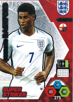 Adrenalyn XL England 2018 Super Striker Cards