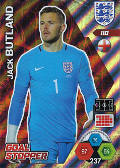 Adrenalyn XL England 2018 Goal Stopper Cards