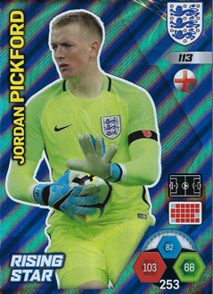 Adrenalyn XL England 2018 Rising Star Cards