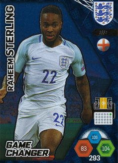 Adrenalyn XL England 2018 Game Changer Cards