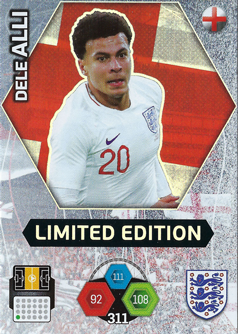 Adrenalyn XL England 2018 Limited Edition Cards