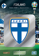 Adrenalyn XL Euro 2020<br />Finland Cards