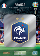 Adrenalyn XL Euro 2020<br />France Cards