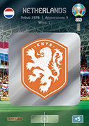 Adrenalyn XL Euro 2020<br />Netherlands Cards